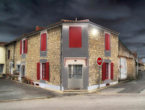 a French house