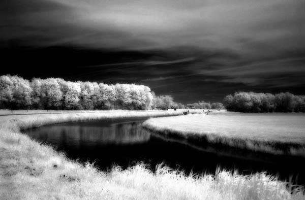 Infrarood landschap