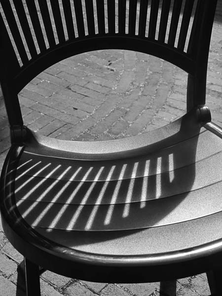 Shadow on chair