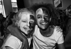 Wit-zwart