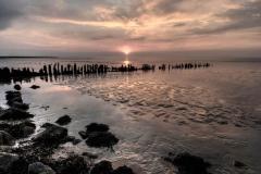 Oude zeewering