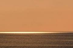Sundown at sea
